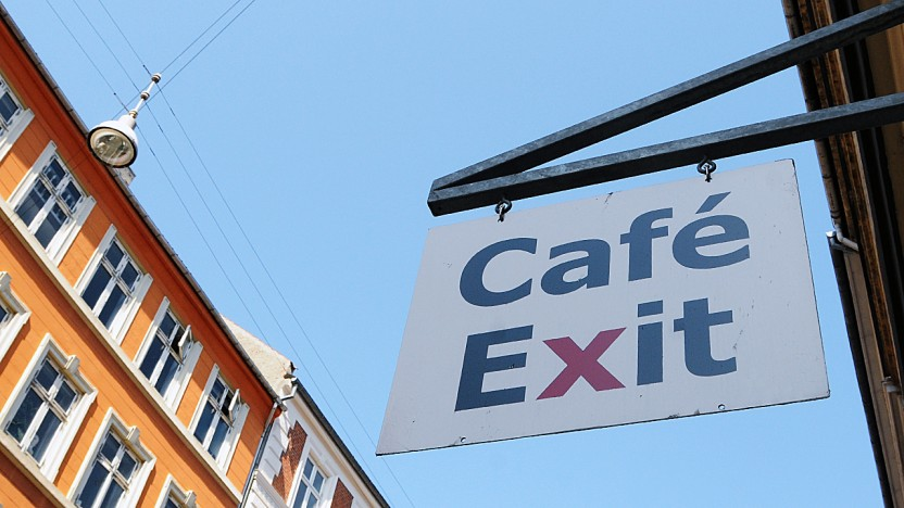 Velkommen til Café Exits nye hjemmeside