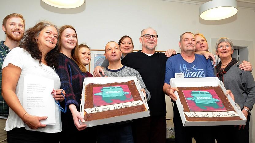 Café Exit i Aarhus fejrede 3-års fødselsdag