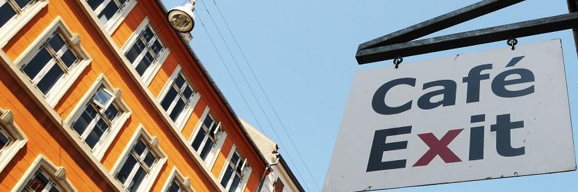Kort om Café Exit