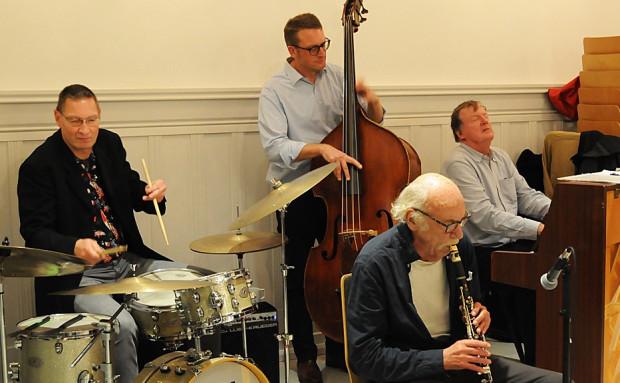 Lennarts Jazzband spiller ved kultureftermiddagen i København på torsdag