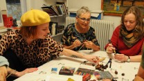 Flere deltager i kreative workshops for indsatte kvinder