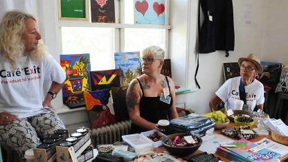 København: Café Exits kvindeklub solgte smykker, håndarbejde og meget andet, der er fremstillet af indsatte