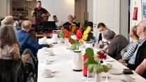 Medlemmer af Fangekoret spillede ved kultureftermiddag i Aarhus