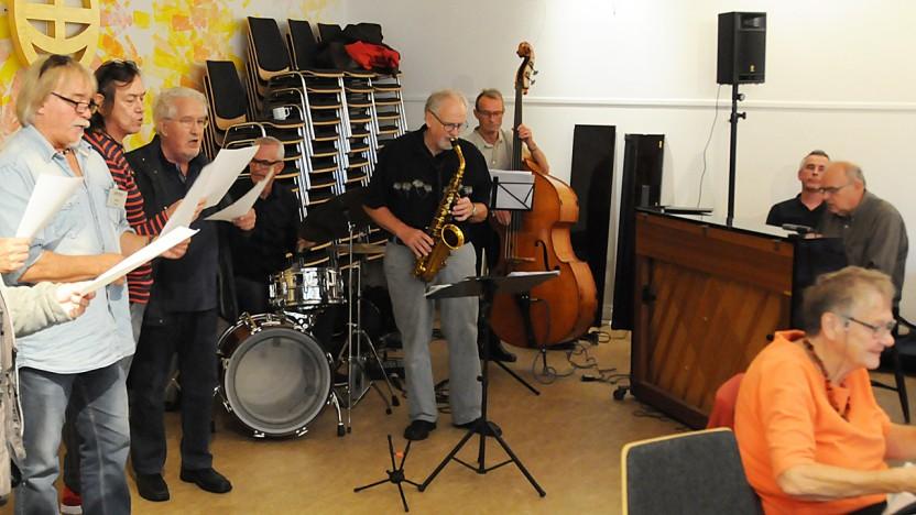 Kultureftermiddag med swingende jazz