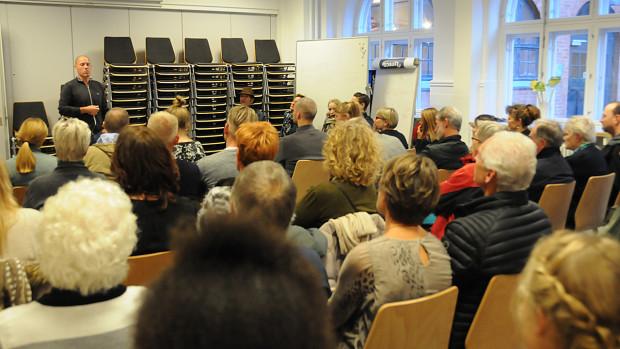 Mange kiggede forbi Café Exit på Kulturnatten