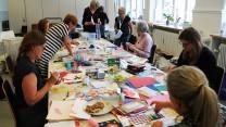 Kreativ hilsen til indsatte kvinder