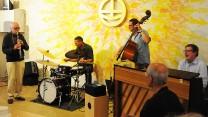 Lennarts jazzband spiller ved kultureftermiddagen i København