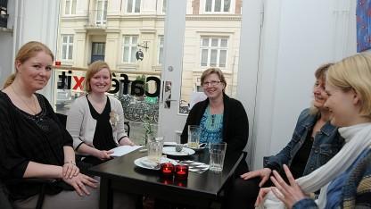 Kulturborgmester på besøg i Café Exit