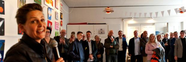 Omkring 200 fejrede Café Exits 10-års jubilæum