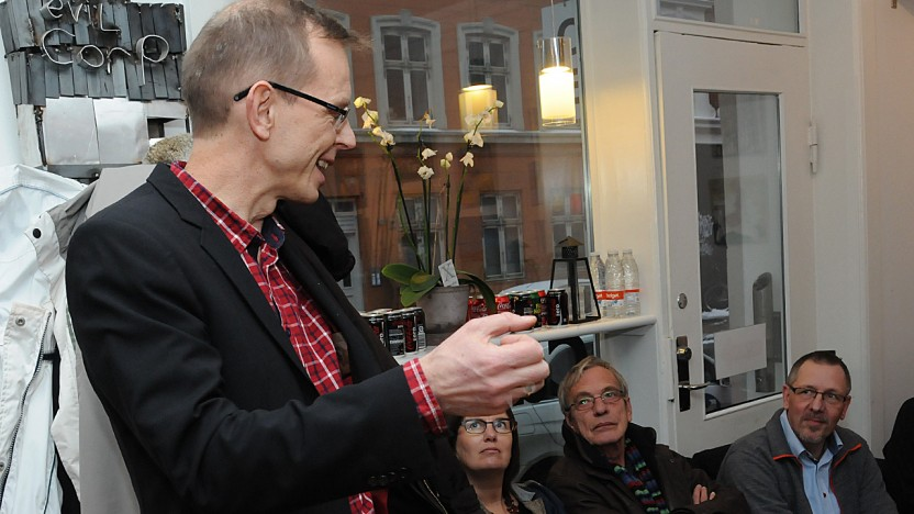 Reception for Café Exits nye organisationschef
