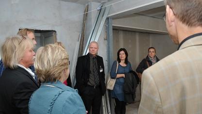 Folketingets Retsudvalg besøgte Café Exit