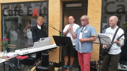 Café Exit i Aarhus holder åbent hus ved Vestergadefesten den 2. juni